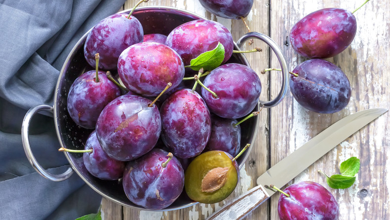 Plums For Glowing Skin